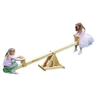 Wooden See-Saw by Garden Games