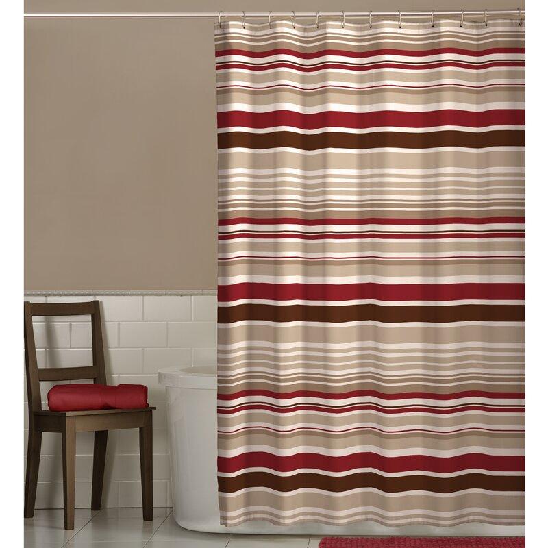 Hookless Fabric Shower Curtain   Wayfair