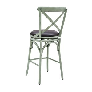 Hardev Swivel Bar Stool by 17 Stories