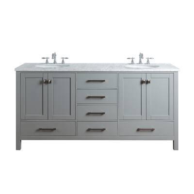 Ankney 72 Double Sink Bathroom Vanity Set Reviews Allmodern