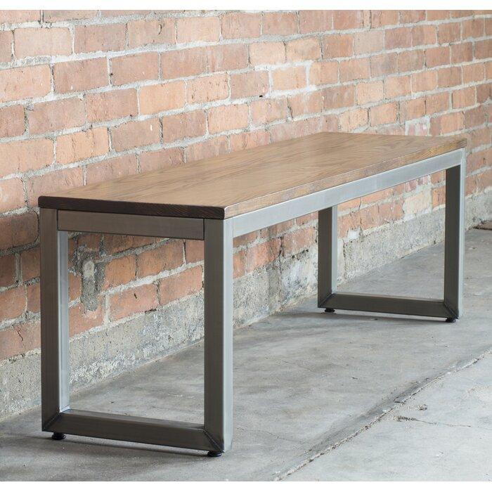 Elan Furniture Loft Metal Bench U0026 Reviews | Wayfair