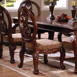 Baschey Solid Wood Dining Chair (Set of 2)