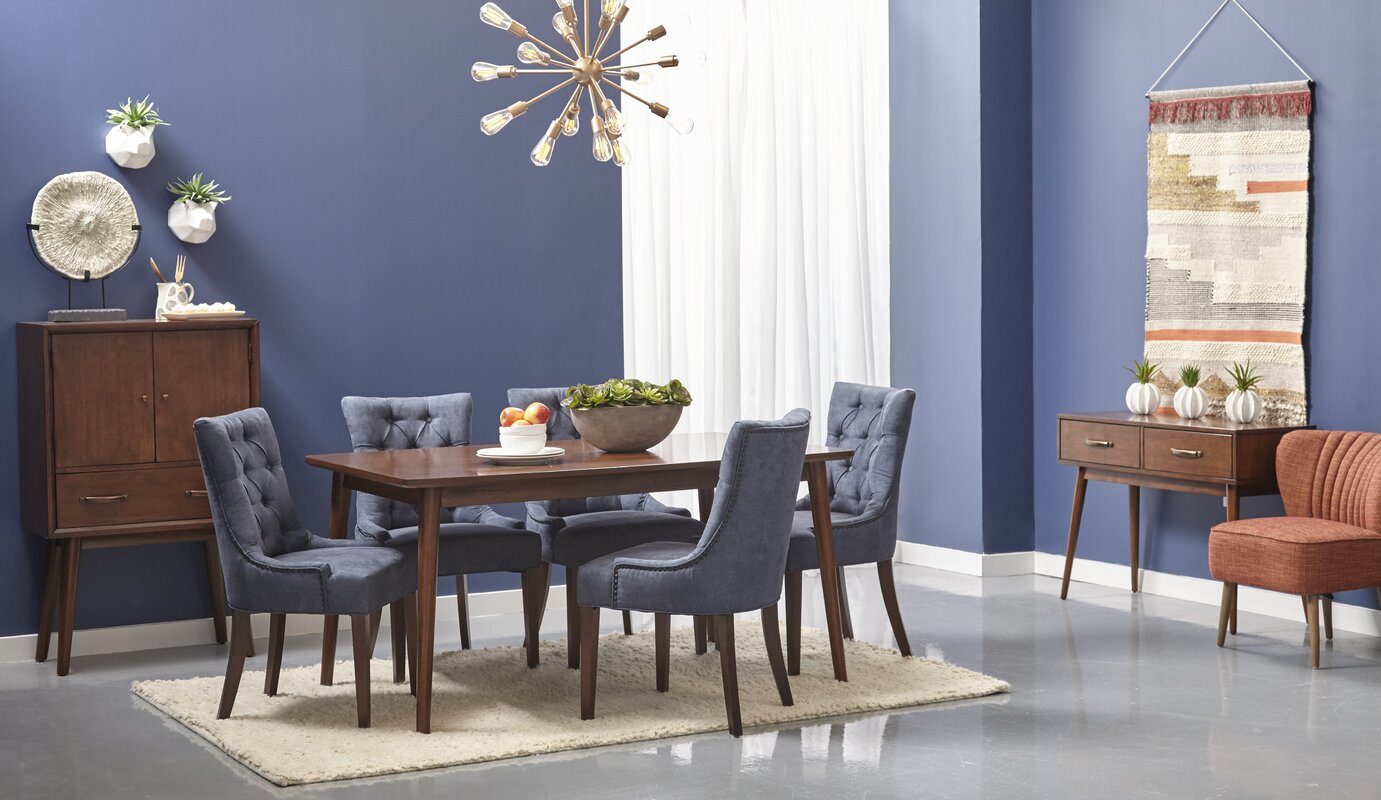 George Oliver Ripton Mid-Century Modern Rectangular Dining Table ...