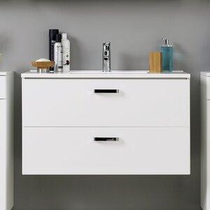 Held Möbel 100 cm Waschtisch Bologna mit Armatur