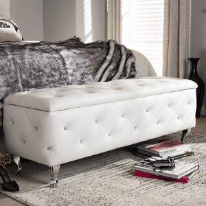 Baxton Studio Upholstered Storage Bench