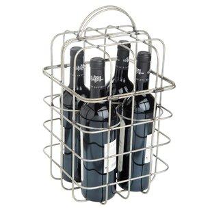 Wimberley Wire 4 Bottle Tabletop Wine Holder