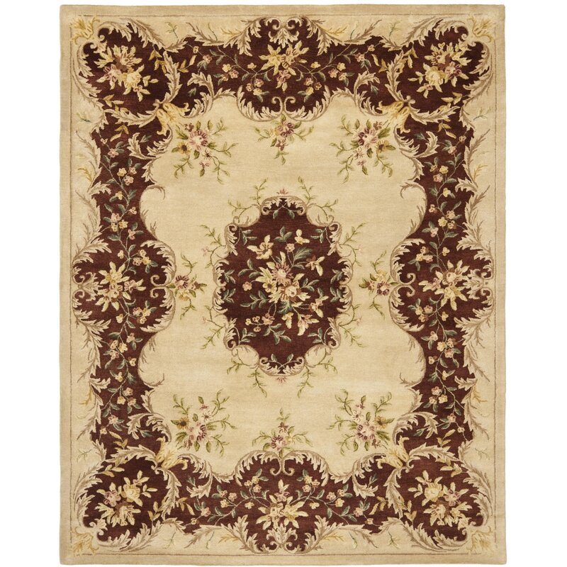Safavieh Bergama Ivory Rust Area Rug Amp Reviews Wayfair