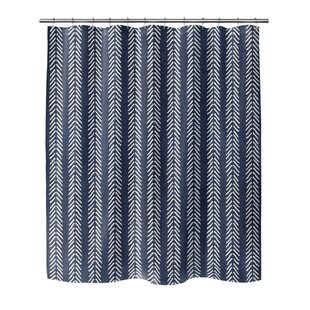 Modern Contemporary 96 Inch Shower Curtain