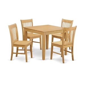 Lennox 5 Piece Dinning Set by Alcott Hill