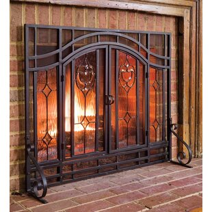 fireplace screens doors you ll love in 2019 wayfair rh wayfair com