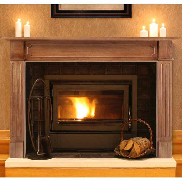 Pearl Mantels Avondale Fireplace Surround: Pearl Mantels The Alamo Fireplace Mantel Surround