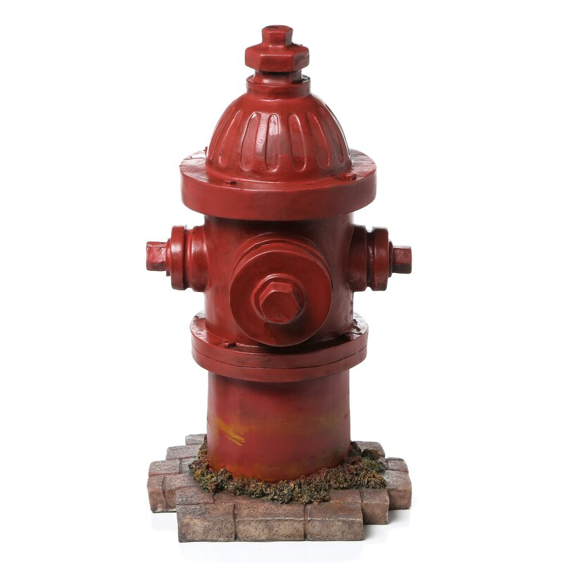 Design Toscano Dog S Second Best Friend Fire Hydrant