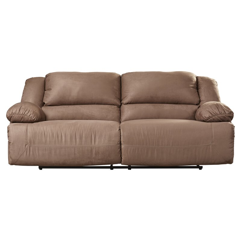 Darby Home Co Jimenes Two Seat Reclining Sofa Reviews Wayfair