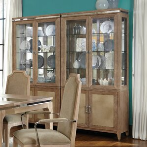Biscayne West Lighted China Cabinet by Mi..