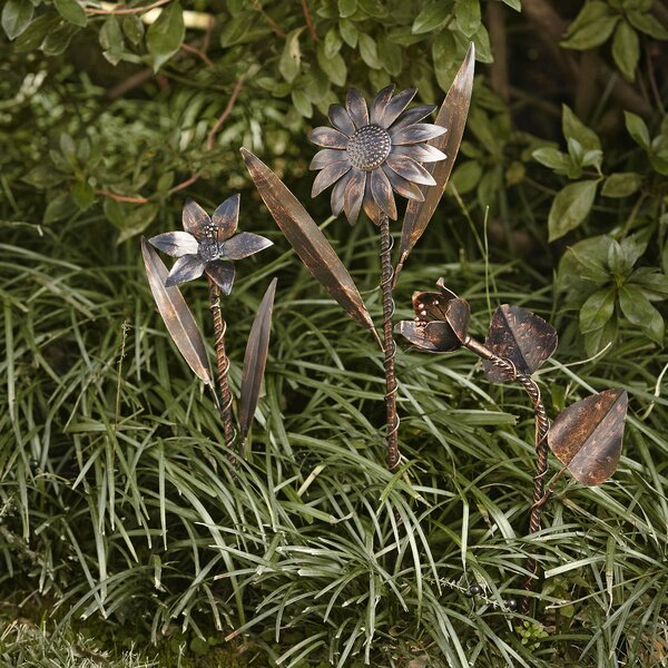 Garden Flower Stakes | Wayfair