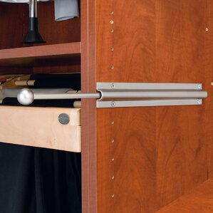 Pull-Out Standard Valet Rod by Rev-A-Shelf