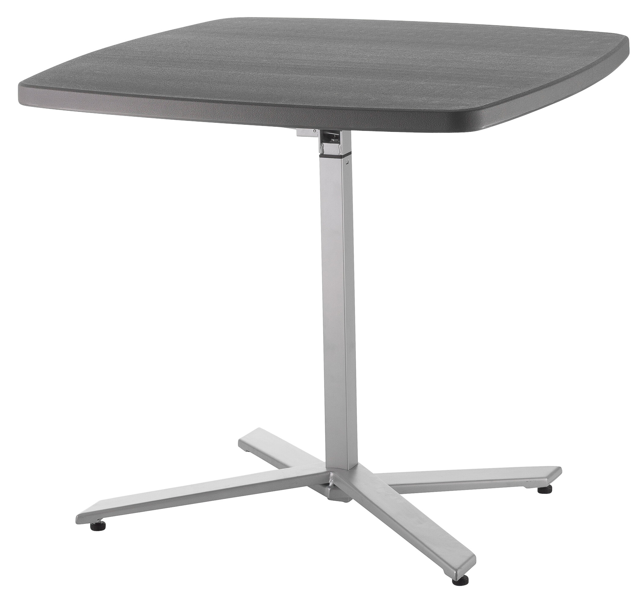 National Public Seating Adjustable Height Pub Table Reviews Wayfair - Adjustable height cafe table