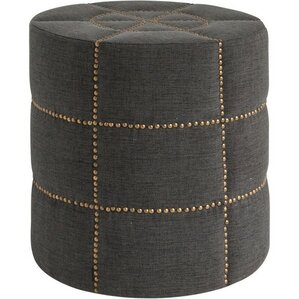 Beacon II Round Ottoman by Inspired D?cor and Interiors