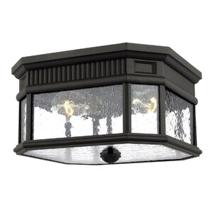 Chilhowee 2-Light Flush Outdoor Mount