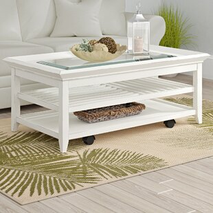 Superb Cliffside Coffee Table With Tray Top