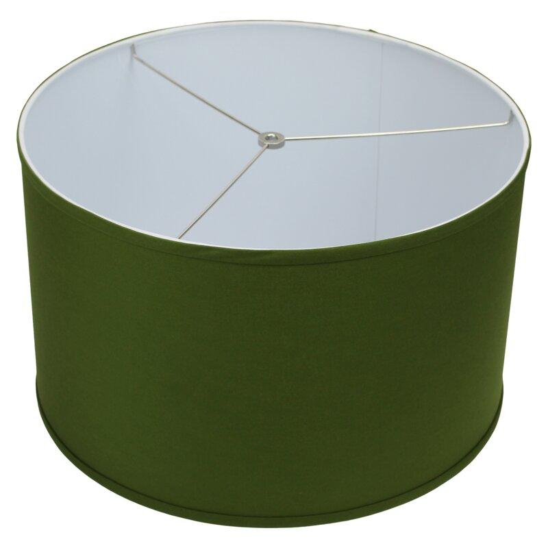 Red barrel studio 18 linen drum lamp shade wayfair 18 linen drum lamp shade aloadofball Gallery