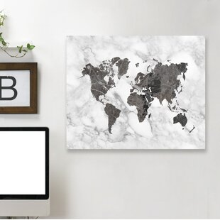 Black white map wall art youll love wayfair save gumiabroncs Image collections