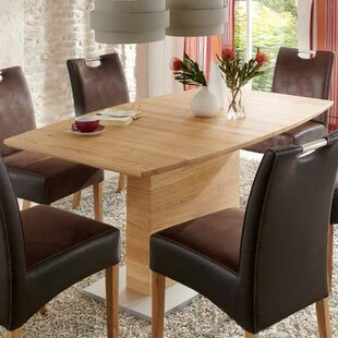 Boat-Shaped Extendable Dining Table By Niehoff | Discount
