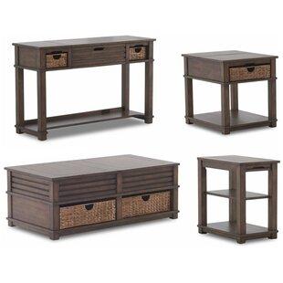 4 Piece Coffee Table Set Wayfair