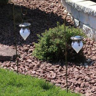 Westinghouse solar lights wayfair starkville rain drop solar light outdoor hanging lantern set of 2 aloadofball Images