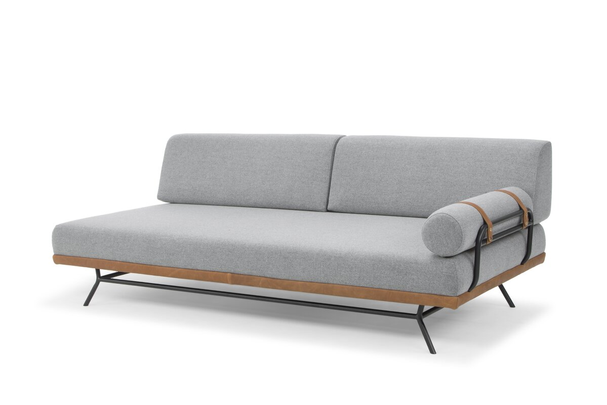 Union Rustic Simonne Modern Daybed with Mattress Reviews Wayfair