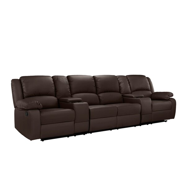 Attirant Couch With Cup Holders | Wayfair