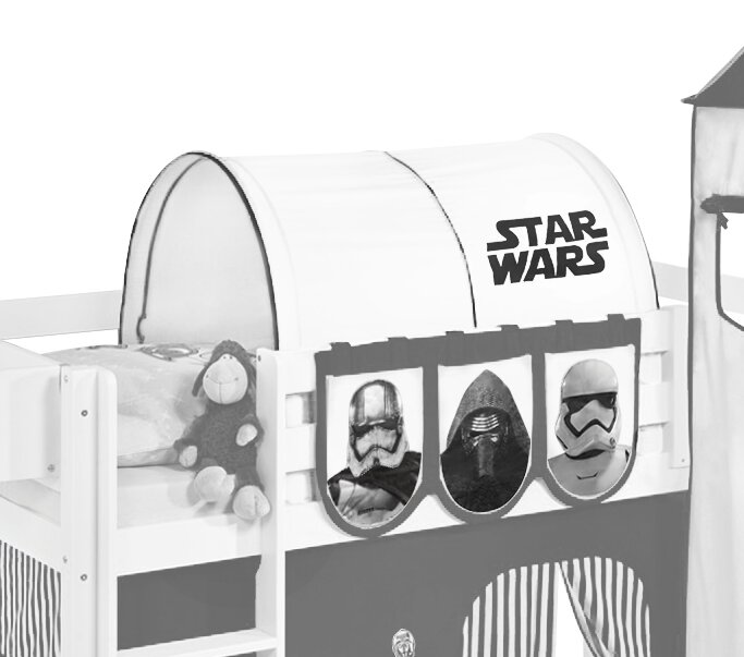 Star Wars Bunk Bed Tunnel  sc 1 st  Wayfair & Wrigglebox Star Wars Bunk Bed Tunnel u0026 Reviews | Wayfair.co.uk