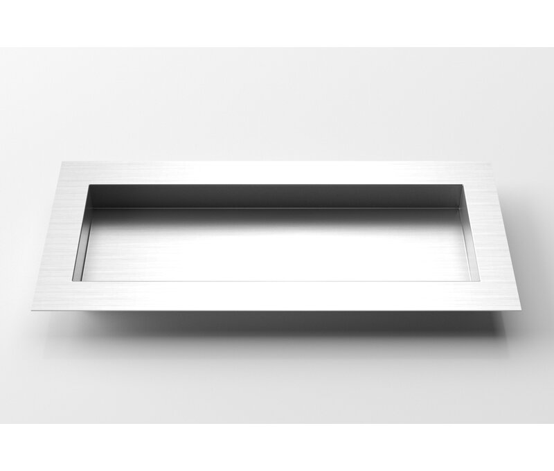Veradek Geo Stainless Steel Planter Box Wayfair