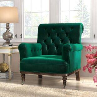 Emerald Green Arm Chair   Wayfair