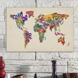 World Map Push Pin | Wayfair