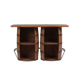 Wakefield Double Barrel Bar With Wine Storage Today Sale Only
