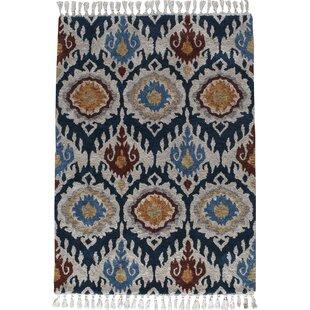 Kabbani Indigo Blue Area Rug