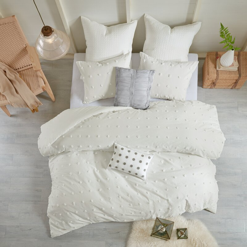 Aiden Cotton Duvet Cover Set