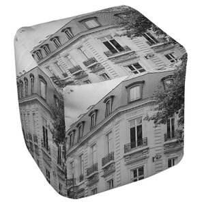 A Travers Paris II Ottoman by Manual Woodwor..