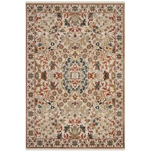 Murphy Traditional Ivory Area Rug