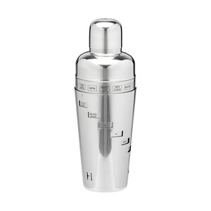 Stainless Steel 32 Oz. Recipe Cocktail Shaker