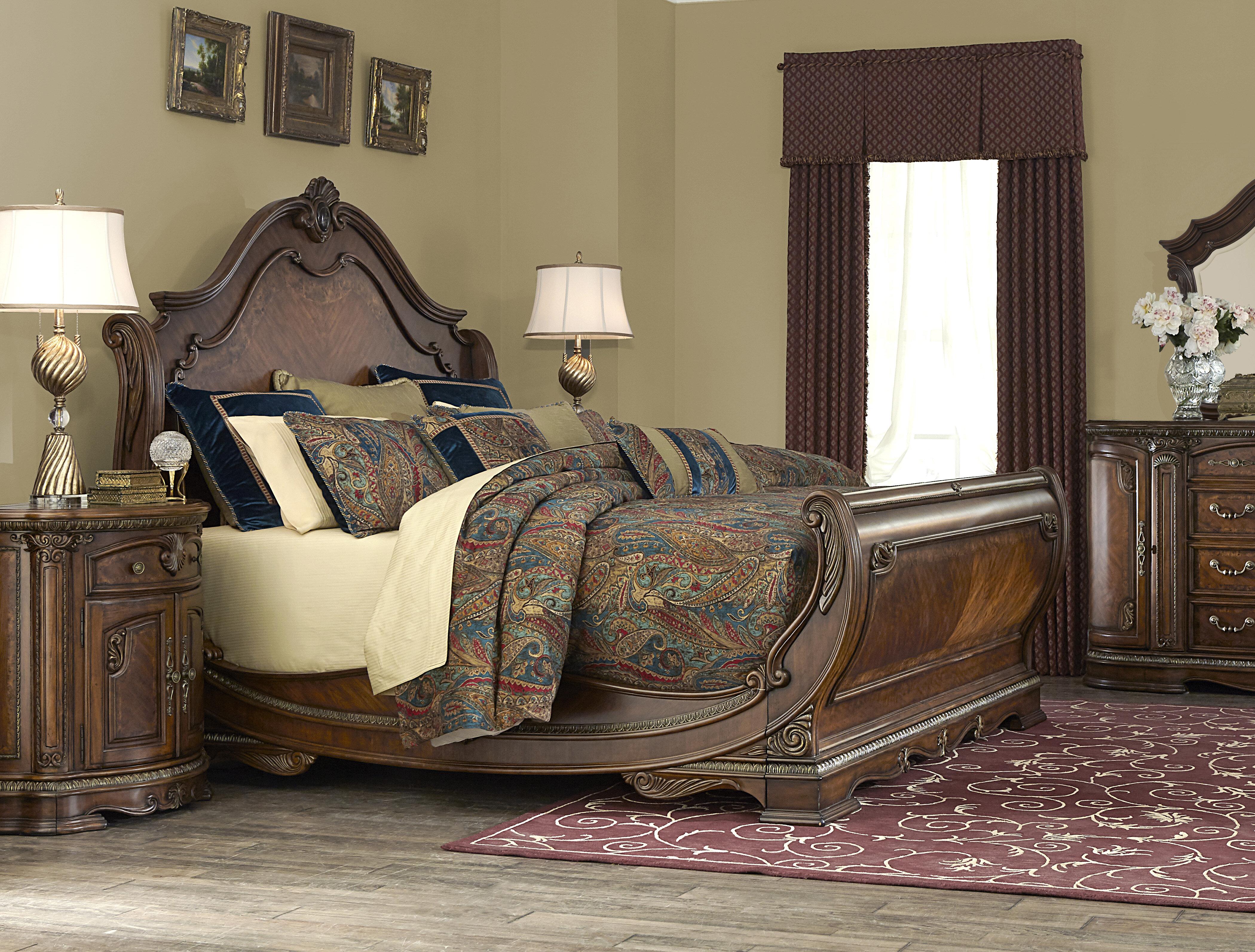 Delicieux Michael Amini Bella Veneto Sleigh Bed U0026 Reviews | Wayfair