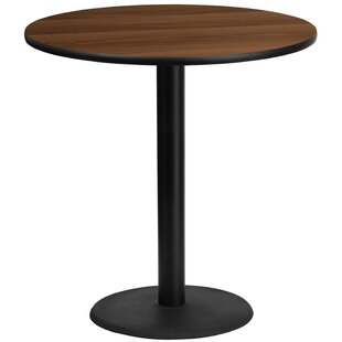 Pereyra 42'' Round Walnut Laminate Pub Table