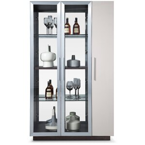 Vera Lighted Curio Cabinet by Bellini Modern Living