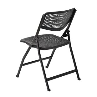 Metal Folding Chair With Scroll Back >> Folding Chairs You Ll Love Wayfair