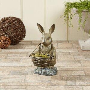 Butler Bunny Statue