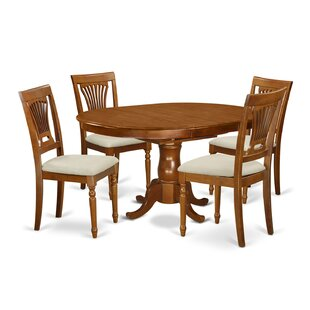 Portland 5 Piece Extendable Dining Set