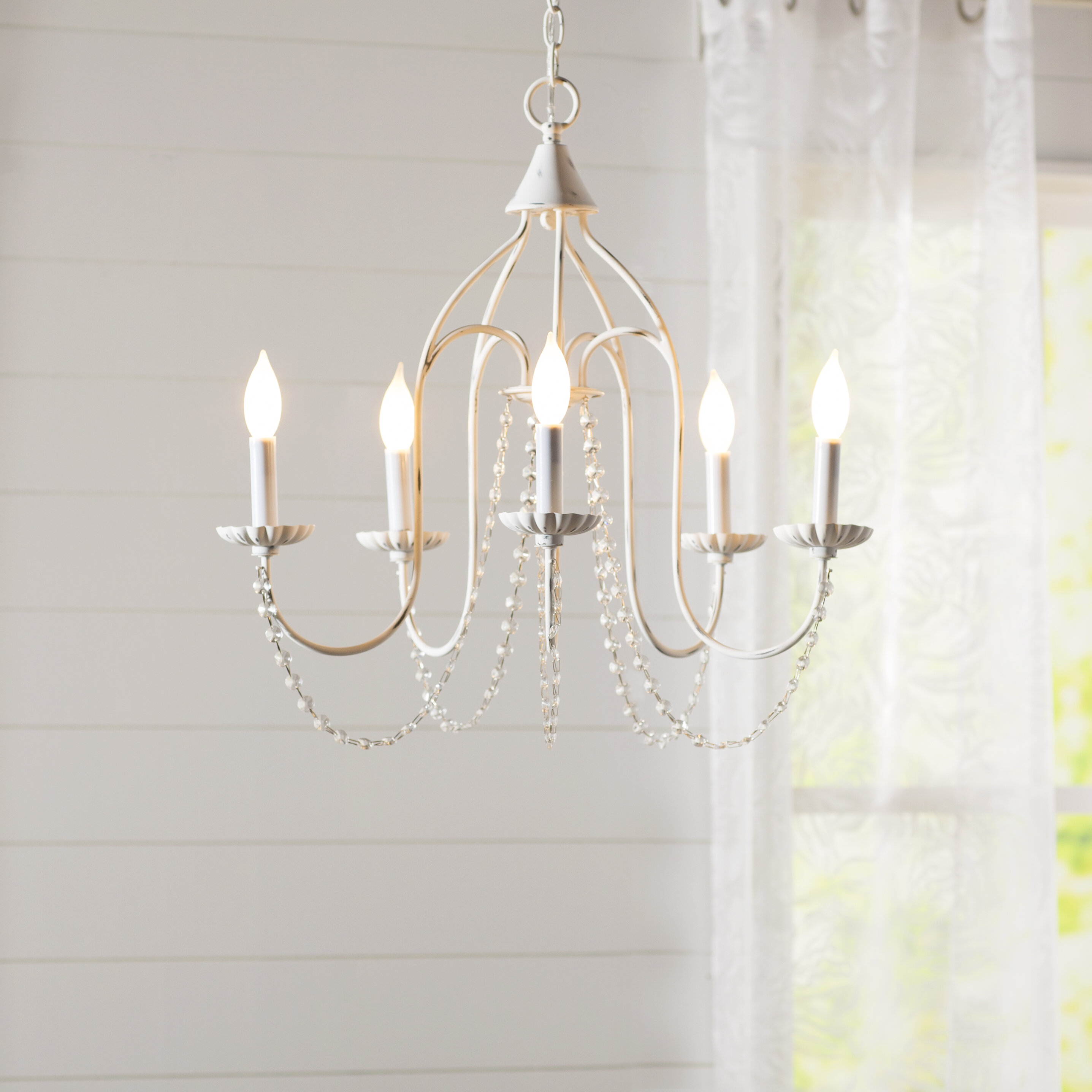 Ophelia & Co. Florentina 5-Light Candle-Style Chandelier & Reviews ...