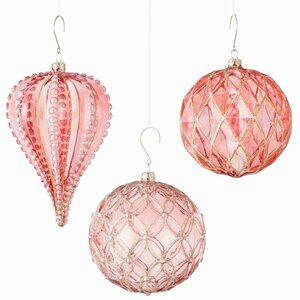 3 Piece Shaped Ornament Set