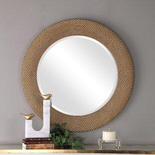 01d0e4dd28ce Gold Round Mirrors You ll Love